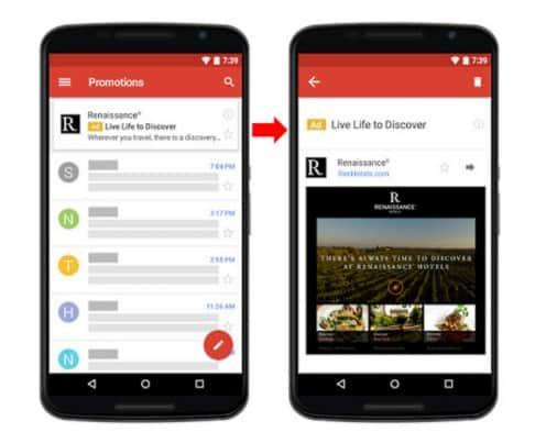 Outil simple pour l'e-mail marketing d'un site B2B essayez Gmail