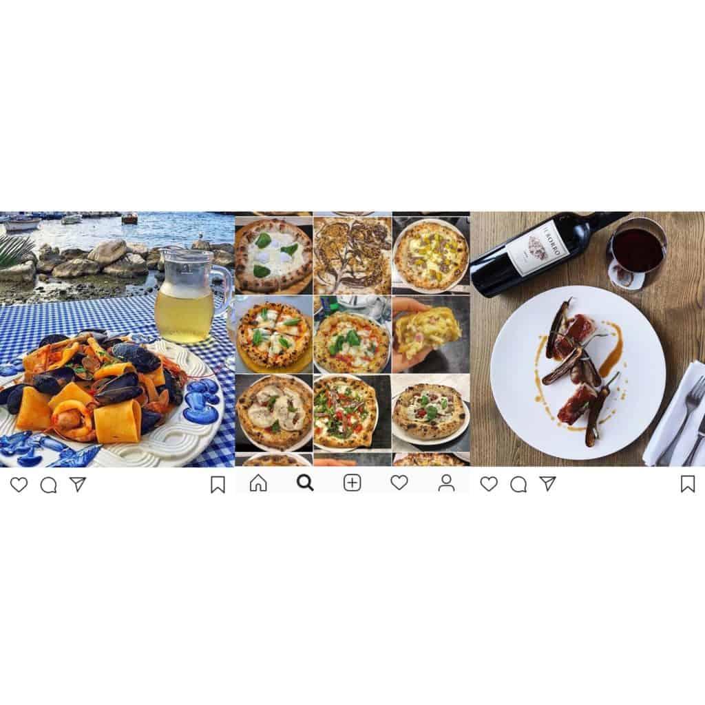 Instagram et food expérience