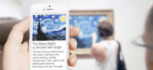 Application mobile pour un musée